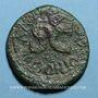 Coins Auguste (27 av. - 14 ap. J-C). As émis par M. Salvinus Otho. Rome, 7 av. J-C, contremarqué TIB