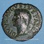 Coins Auguste (27 av. - 14 ap. J-C). As frappé sous Tibère. Rome, 31-37. R/: autel
