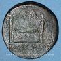 Coins Auguste (27 av. - 14 ap. J-C). As. Lyon, 10-7(?) av. J-C. R/: autel de Lyon