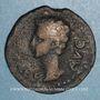 Coins Auguste (27 av. - 14 ap. J-C). Bronze. Colonia Patricia
