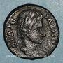 Coins Auguste (27 av. - 14 ap. J-C). Bronze frappé par Q. Papirius Car.& Q. Terentius Montanus. Illici