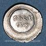 Coins Auguste (27 av. - 14 ap. J-C). Denier. Caesaraugusta, 19-18 av. J-C. R/: S.P.Q.R./CL.V