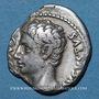 Coins Auguste (27 av. - 14 ap. J-C). Denier. Colonia Patricia, 19-18 av. J-C