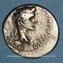Coins Auguste (27 av. - 14 ap. J-C). Denier. Lyon, 2 av. - 4 ap. J-C. R/: Caius et Lucius