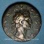 Coins Auguste (27 av. - 14 ap. J-C). Sesterce frappé sous Nerva. Rome, 96.