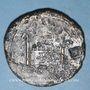 Coins Auguste (27 av. - 14 ap. J-C). Sesterce. Lyon, 10-14 ap. J-C. Contremarque ART en monogramme