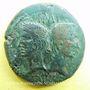Coins Auguste et Agrippa. Dupondius. Nîmes, 16 - 10 avant J-C.