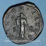 Coins Balbin (238). Sesterce. Rome, 238. R/:Victoire