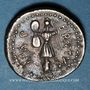 Coins Brutus (85-42 av. J-C). Denier. Eté-automne 42 av. J-C. Partie occidentale Asie Mineure ou Macédoine