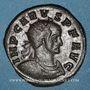 Coins Carus (282-283). Antoninien. Ticinum, 2e officine, 282. R/: L'Espérance marchant à gauche