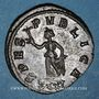 Coins Carus (282-283). Antoninien. Ticinum, 2e officine, 282. R/: l'Espérance