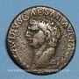 Coins Claude (41-54). Claude (41-54). As. Rome, 41-42. R/: Minerve casquée debout à droite