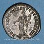 Coins Constance I Chlore, césar (293-305). Follis. Rome, 3e officine, 300-303. R/: la Monnaie