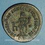 Coins Constance I Chore, césar (293-305). Follis. Ticinum, 2e officine. 304-305. R/: la Monnaie