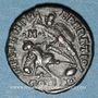 Coins Constance II (337-361). Centénionalis. Constantinople, 6e officine, 355-361. R/: guerrier tuant un e