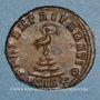 Coins Constant (337-350). 1/4 maiorina (?). Siscia, 1ère officine. 348-350. R/: Phénix