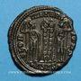 Coins Constant, césar (333-337). Centenionalis. Siscia, 1ère officine. 334-335. R/: deux soldats