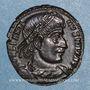 Coins Constantin I (307-337). Centenionalis. Arles, 1ère officine. 333-334. R/: deux soldats