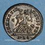Coins Constantin I (307-337). Centenionalis. Lyon, 1ère officine, 323-324. R/: Victoire