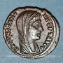 Coins Constantin I (307-337). Centenionalis posthume. Alexandrie, 1ère officine, 342-348