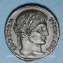 Coins Constantin I (307-337). Centenionalis. Thessalonique, 5e officine, 324. R/: couronne