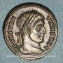 Coins Constantin I (307-337). Centenionalis. Ticinum, 2e officine, 320-321. R/: couronne