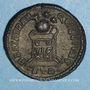 Coins Constantin I (307-337). Centenionalis. Trèves, 2e officine, 322-323. R/: globe