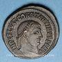 Coins Constantin I (307-337). Follis. Alexandrie, 1ère officine, 315-316. R/: Jupiter debout à gauche