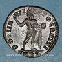 Coins Constantin I (307-337). Follis. Arles, 1ère officine, 313-314. R/: le Soleil