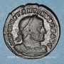 Coins Constantin I (307-337). Follis. Arles, 1ère officine, 316-317. R/: le Soleil