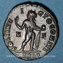 Coins Constantin I (307-337). Follis. Arles, 1ère officine, 316. R/: le Soleil