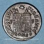 Coins Constantin I (307-337). Follis. Arles, 2e offficine, 328-329. R/: porte de camp