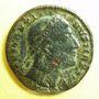 Coins Constantin I (307-337). Follis. Constantinople, 5e officine, 328. R/: Victoire assise à gauche