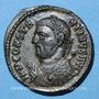 Coins Constantin I (307-337). Follis. Cyzique, 4e officine, 317-318. R/: Jupiter