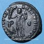 Coins Constantin I (307-337). Follis. Héraclée, 5e officine, 313-314. R/: Jupiter