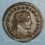 Coins Constantin I (307-337). Follis. Londres. 1ère officine, 310. R/: Génie