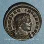 Coins Constantin I (307-337). Follis. Londres, 318. R/: le Soleil