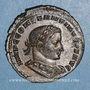 Coins Constantin I (307-337). Follis. Lyon, 1ère officine, 308-309. R/: génie debout à gauche