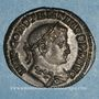 Coins Constantin I (307-337). Follis. Lyon. 1ère officine, 309. R/: Génie