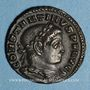 Coins Constantin I (307-337). Follis. Lyon, 1ère officine, 312. R/: le Soleil radié