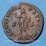 Coins Constantin I (307-337), follis, Lyon, 1ère officine, 312. R/: le Soleil radié