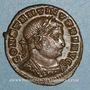 Coins Constantin I (307-337). Follis. Lyon, 1ère officine. 312. R/: le Soleil