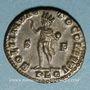 Coins Constantin I (307-337). Follis. Lyon, 1ère officine, 313-314. R/: le Soleil