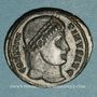 Coins Constantin I (307-337). Follis. Nicomédie, 4e officine, 324-325. R/: porte de camp