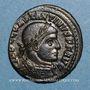 Coins Constantin I (307-337). Follis. Ostie, 1ere officine, 312-313. R/: le Soleil