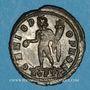 Coins Constantin I (307-337). Follis. Ostie, 2e officine. 312-313. R/: Génie