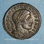 Coins Constantin I (307-337). Follis. Rome, 1ère officine. 316-317. R/: le Soleil
