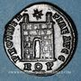 Coins Constantin I (307-337). Follis. Rome, 1ère officine, 326. R/: porte de camp