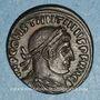 Coins Constantin I (307-337). Follis. Rome, 3e officine. 316-317. R/: le Soleil
