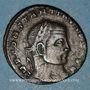 Coins Constantin I (307-337). Follis. Siscia, 1ère officine, 313-315. R/: Jupiter nicéphore debout à g.